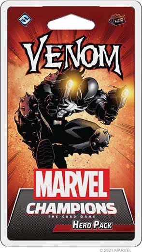 portada de Venom Hero Pack de Marvel: Champion LCG