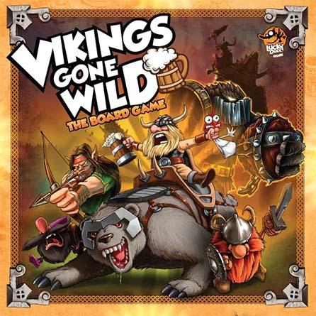 Portada de Vikings gone wild