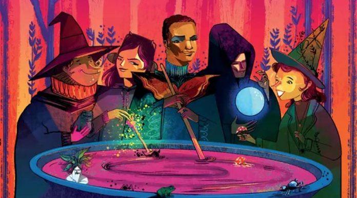 Arte de la portada de Whirling Witchcraft