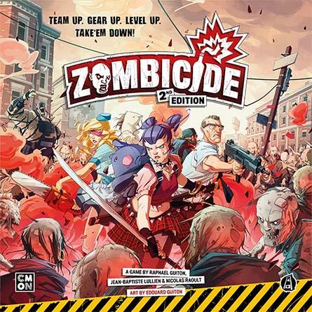 Portada de la segunda edición de Zombicide