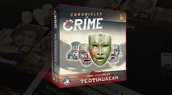 Portada de Chronicles of Crime The Mystery of Teotihuacan