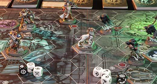 Presentación del set de inicio de warhammer Underworlds