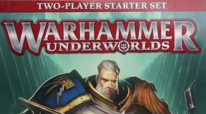 detalle de la portada del set de inicio de warhammer Underworlds