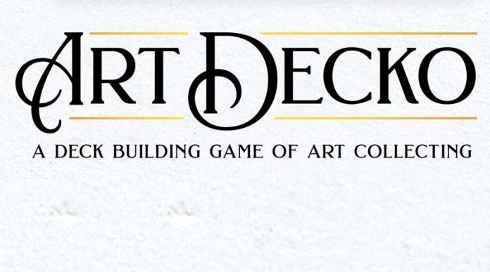 Logotipo de art Decko