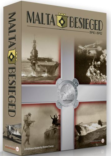Caja del juego Malta Besieged