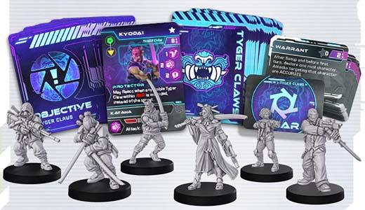 Miniaturas de Cyberpunk Red: Combat Zone