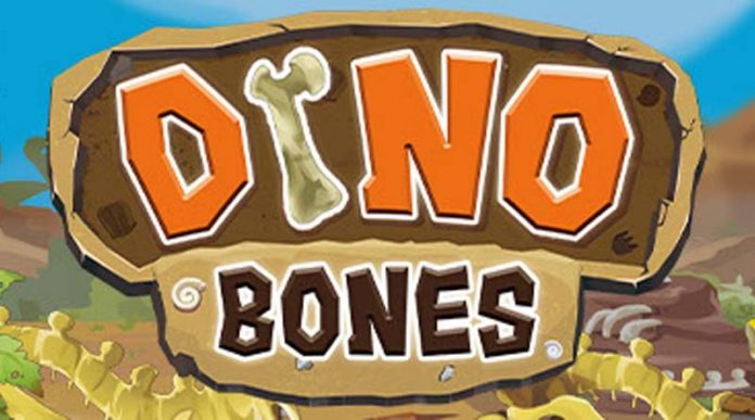 Logotipo de dino Bones