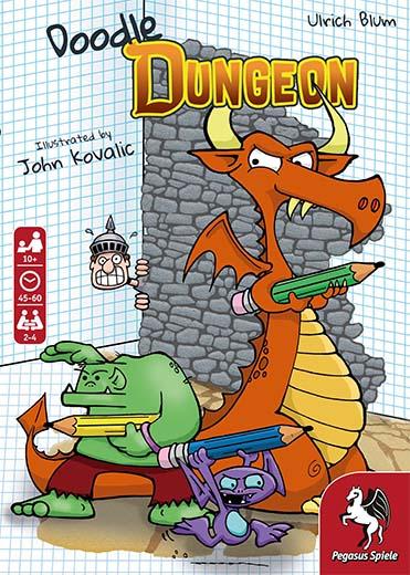 Portada de Doodle Dungeon