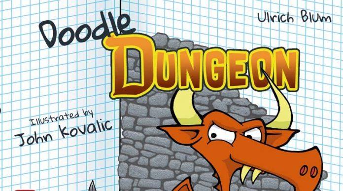 Logotipo de Doodle Dungeon