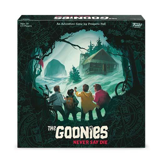 Portada de The Goonies Never Say Die