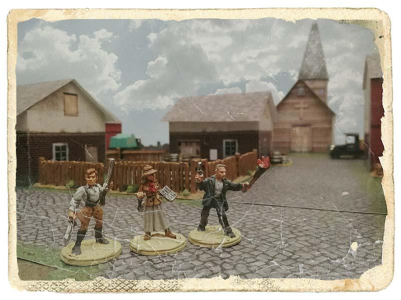 Miniaturas para el juego Fear of the Dark