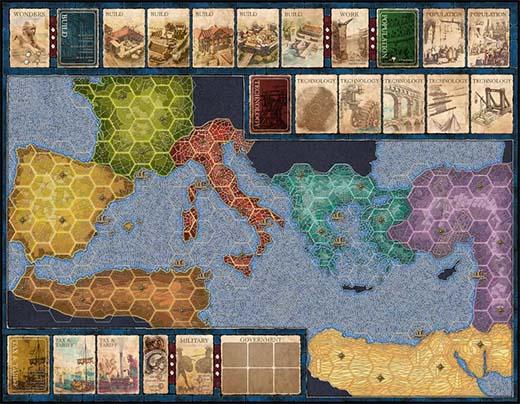 Tablero de Mosaic A Story of Civilization.