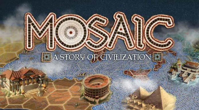 Logotipo de Mosaic A Story of Civilization
