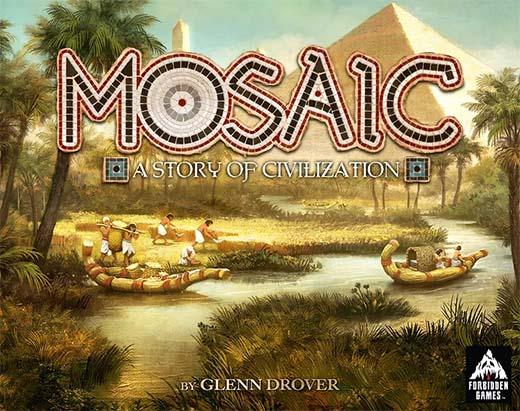 Portada de Mosaic A Story of Civilization