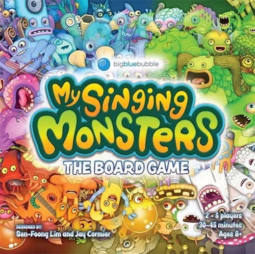 Portada de My Singing Monsters: The Board Game