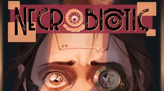 Logotipo del juego de rol necrobiotic