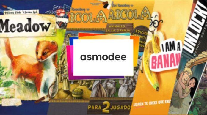 Las novedades de Asmodee para mayo de 2021