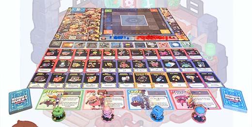 Componentes de Robot Quest Arena