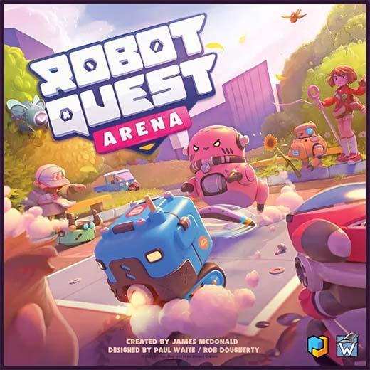 Portada de Robot Quest Arena
