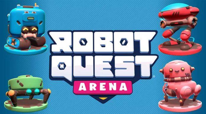 Logotipo de Robot Quest Arena
