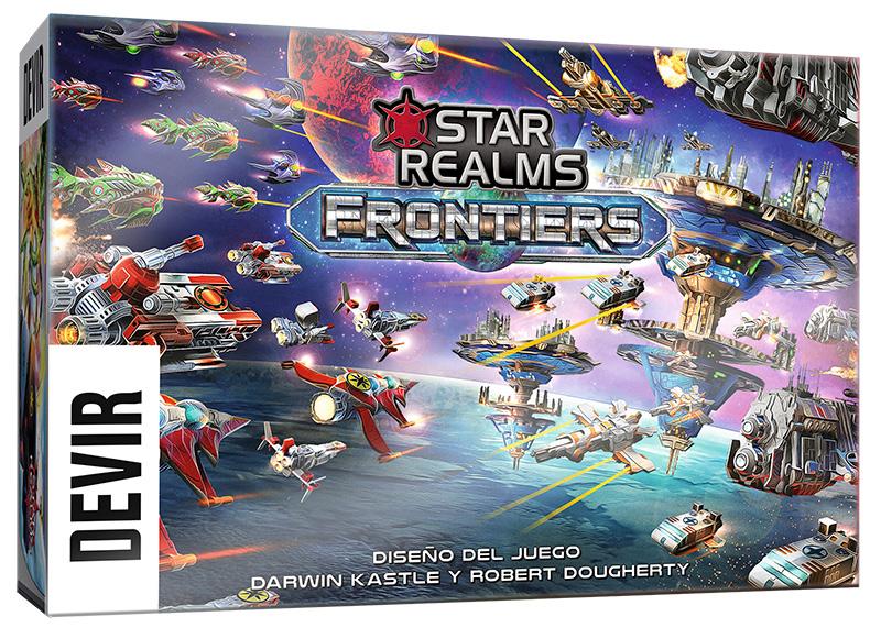 Juego Star Realms Frontiers de Devir