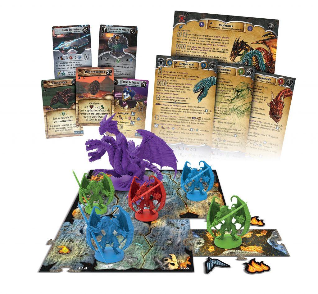 Minis del juego Sword & Sorcery - El Cubil de Vastaryous