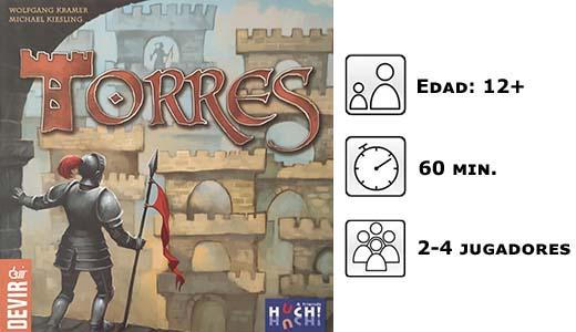Datos del juego de mesa torres