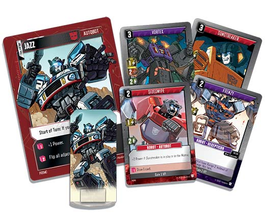 Cartas de Transformers TCG