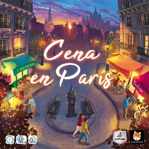Portada de Cena en París