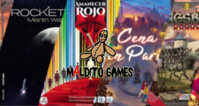 Las novedades de Maldito Games para junio de 2021