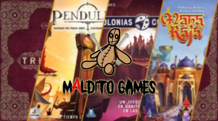 Las novedades de Maldito Games para mayo de 2021