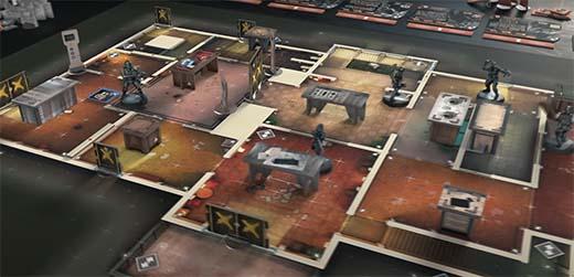 Partida a 6 siege the board game