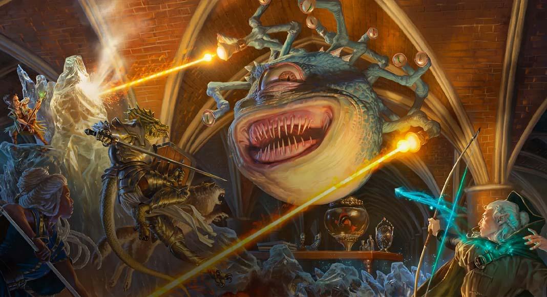 Ilustración de Magic: The Gathering's Adventures in the Forgotten Realms
