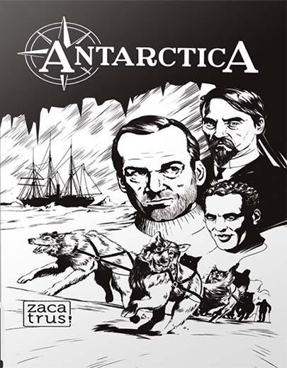 Portada de Antarctica