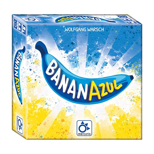 Portada del juego de cartas Banana Azul