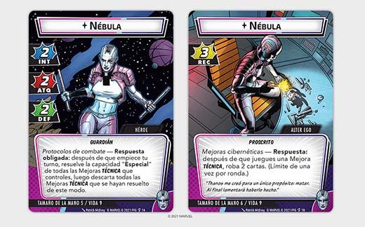 Cartas de Nebula en Marvel Champions