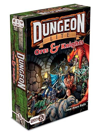 Portada de Dungeon Lite: Orcs & Knights