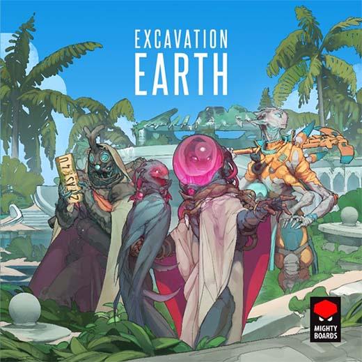 Portada de Excavation Earth