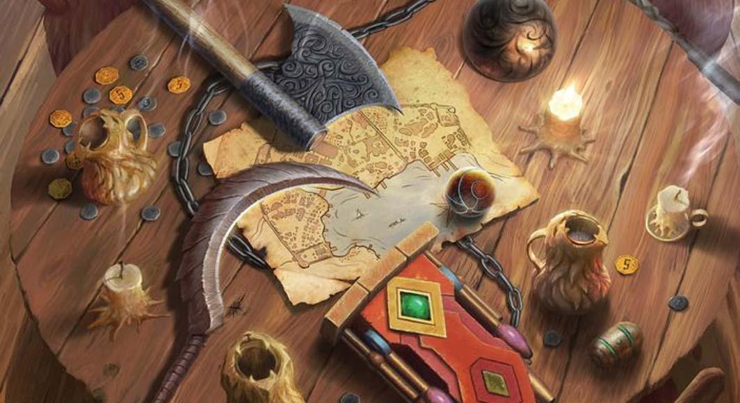 Detalle de la portada de Gloomhaven Fauces del León