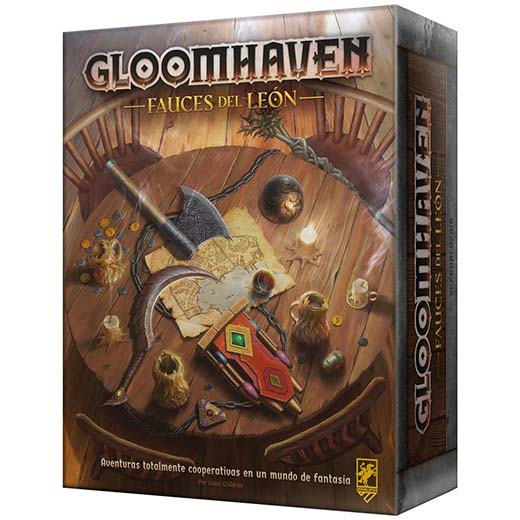 Portada de Gloomhaven Fauces del león