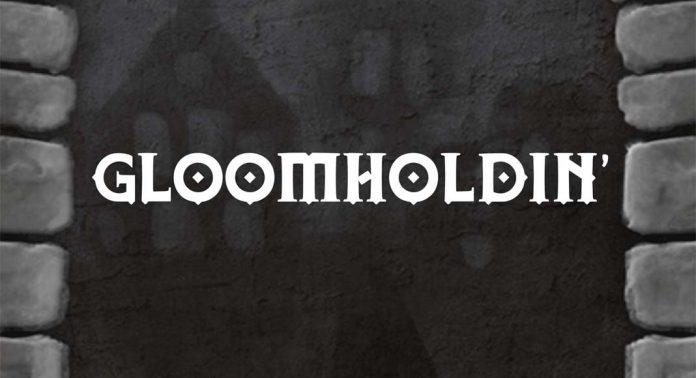 Detalle de la portada de Gloomholdin'