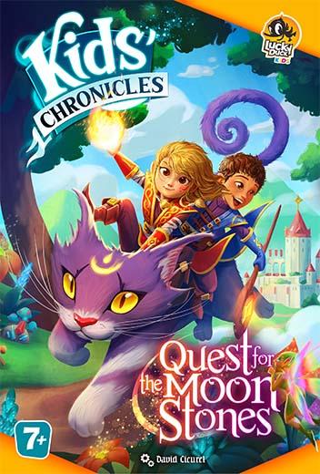 Portada de Kids' Chronicles Quest for the Moon Stones
