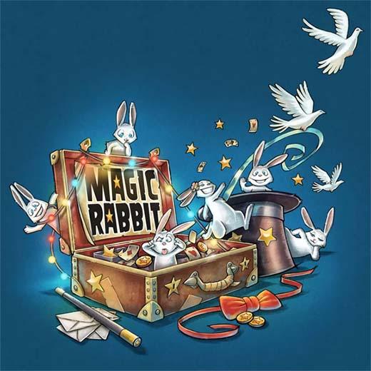 Portada de Magic Rabbit