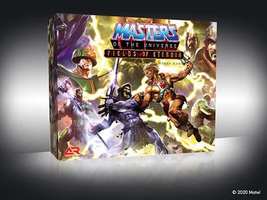 Caja del juego de mesa Masters of the Universe Fields of Eternia
