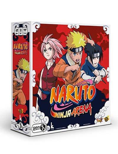Portada de Naruto Ninja Arena