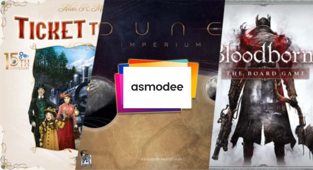 Las novedades de Asmodee para junio de 2021