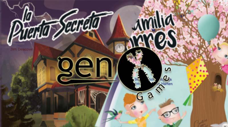 Novedades de Gen X Games para junio de 2021