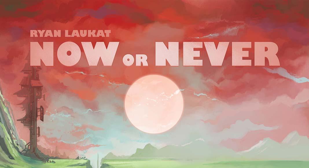 Logotipo de Now or never