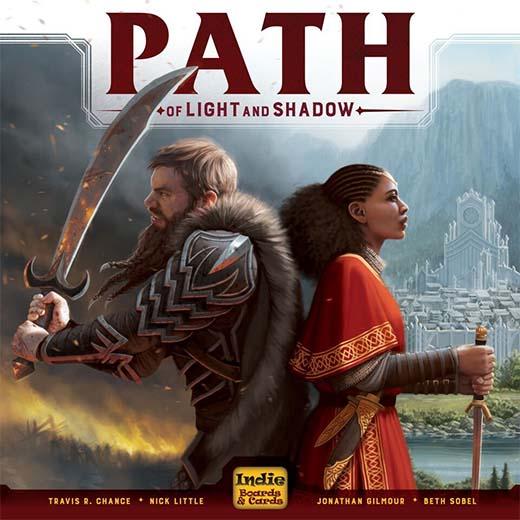 Portada de Path of light and shadow