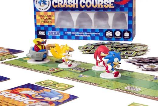 Detalle de una partida a Sonic the Hedgehog Crash Course